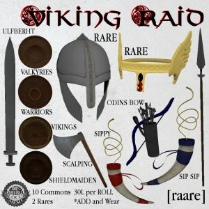 [raare] VIKING RAID AD
